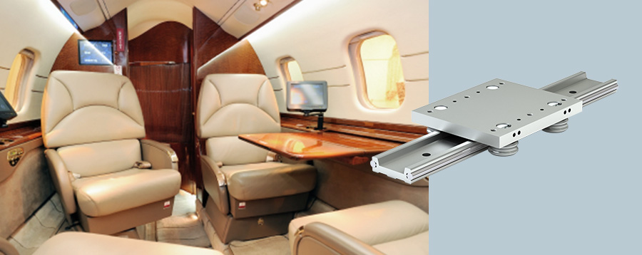 Luxury Aircraft Interior Application Story