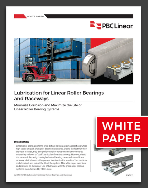 Roller Bearing Lubrication Whitepaper