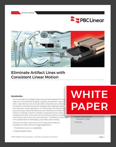 White Paper: Eliminate Artifact Lines