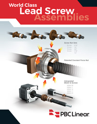 LeadScrew Catalog Cover