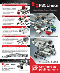 PBC Linear Product Selection Guide