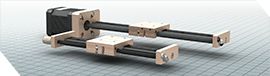 Mini-Rail Series Actuators Configurator
