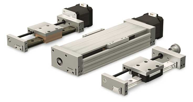 Main view of Compact Series Linear Actuator Group