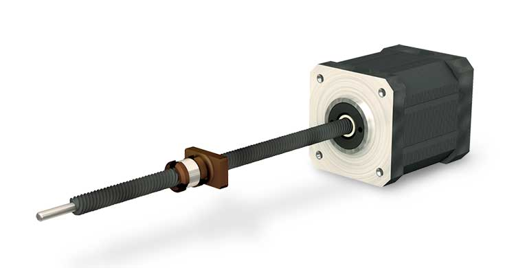 Product view of LSM Lead Screw Motor Actuator