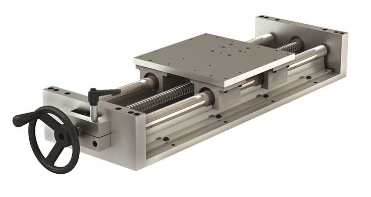 2HWL (Inch) Simplicity Linear Slide Assembly with Hand Wheel