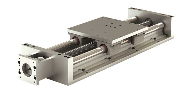 2N34 (Inch) Simplicity Linear Slide Assembly - NEMA Drive Kit