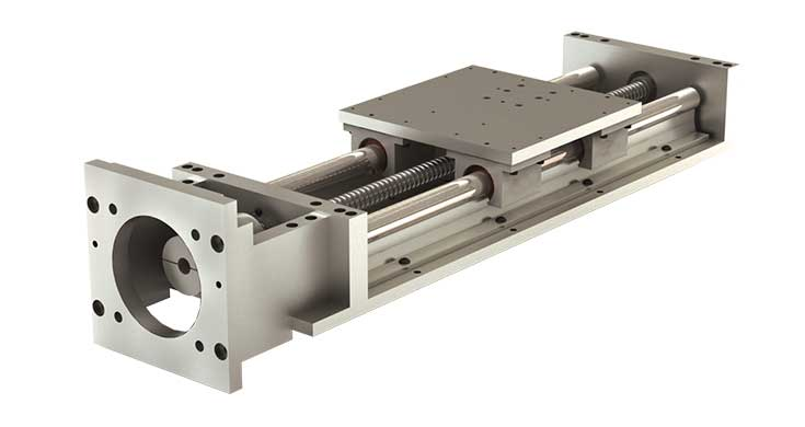 2N56 (Inch) Simplicity Linear Slide Assembly - NEMA Drive Kit