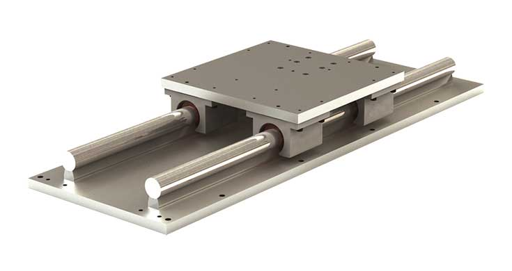 LRPS (Inch) Low Profile Simplicity Linear Slide Assembly