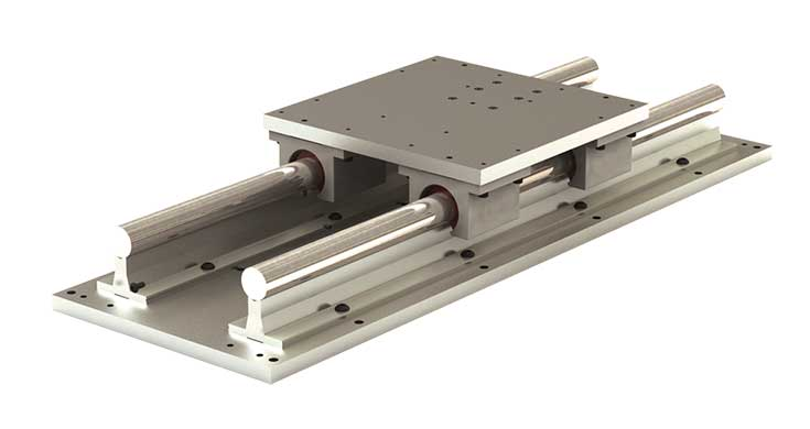 RPS (Inch) High Profile Simplicity Linear Slide Assembly