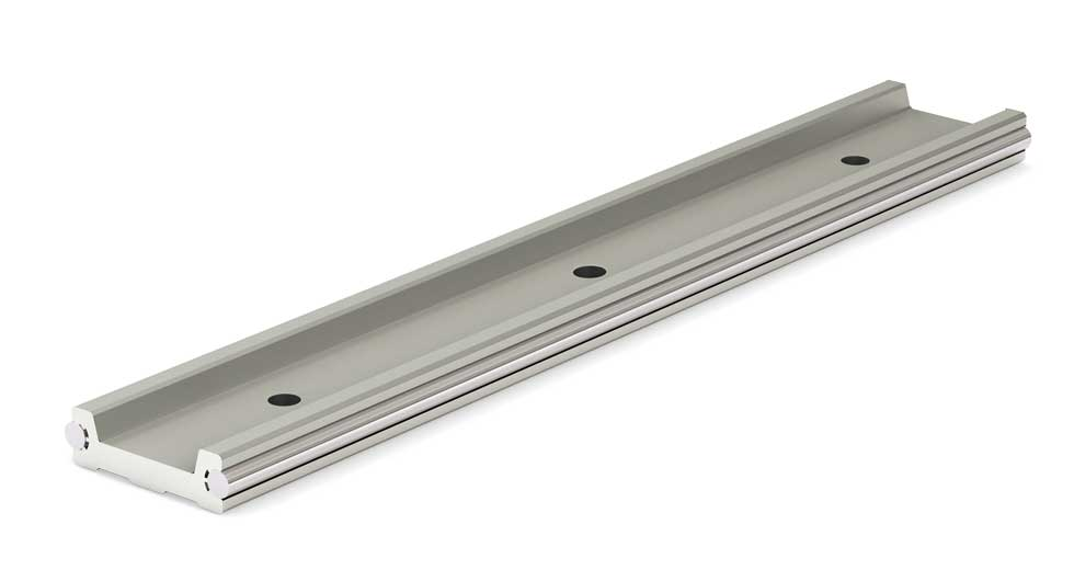 Rail for Low Profile Redi-Rail Linear Guide