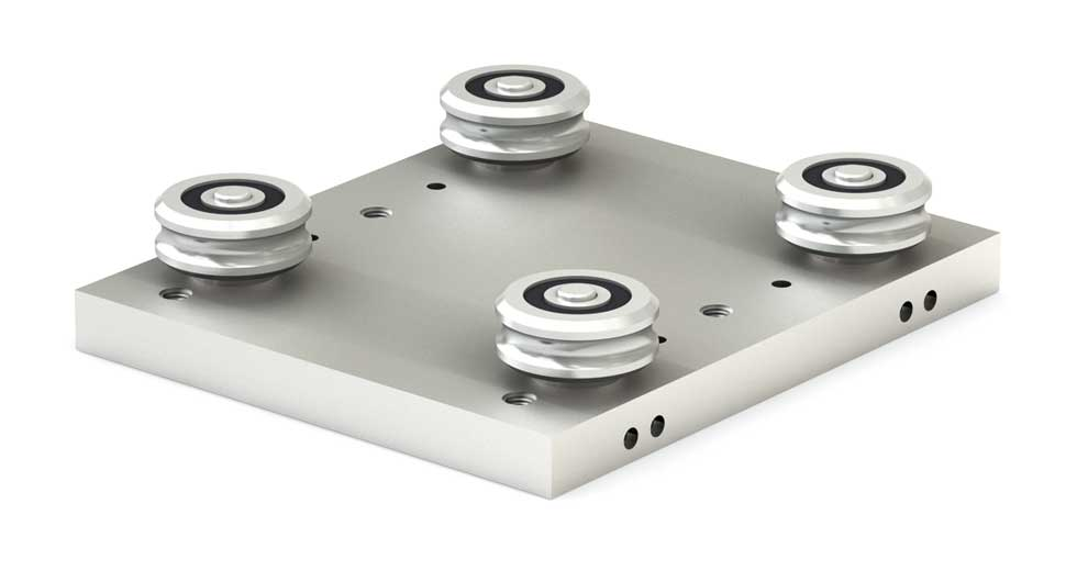 Slider for Low Profile Redi-Rail Linear Guide