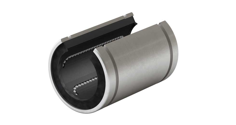 Product view of IP-OP (Inch) Open Linear Ball Bearing
