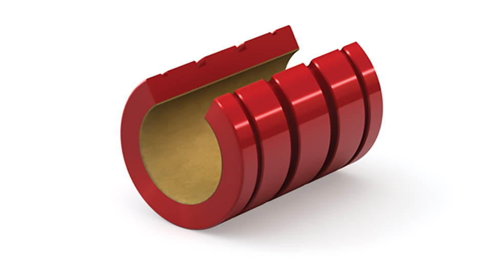 FLN (Inch) Open PTFE Coated Self-Lubricating Linear Bearing