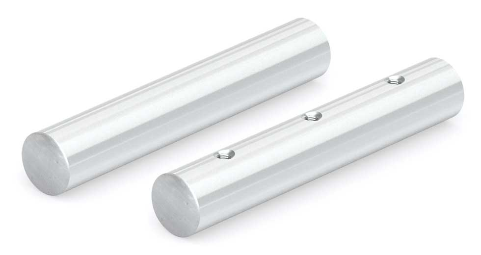 NILSS (Inch) Solid and PreDrilled Stainless Steel Linear Shafting