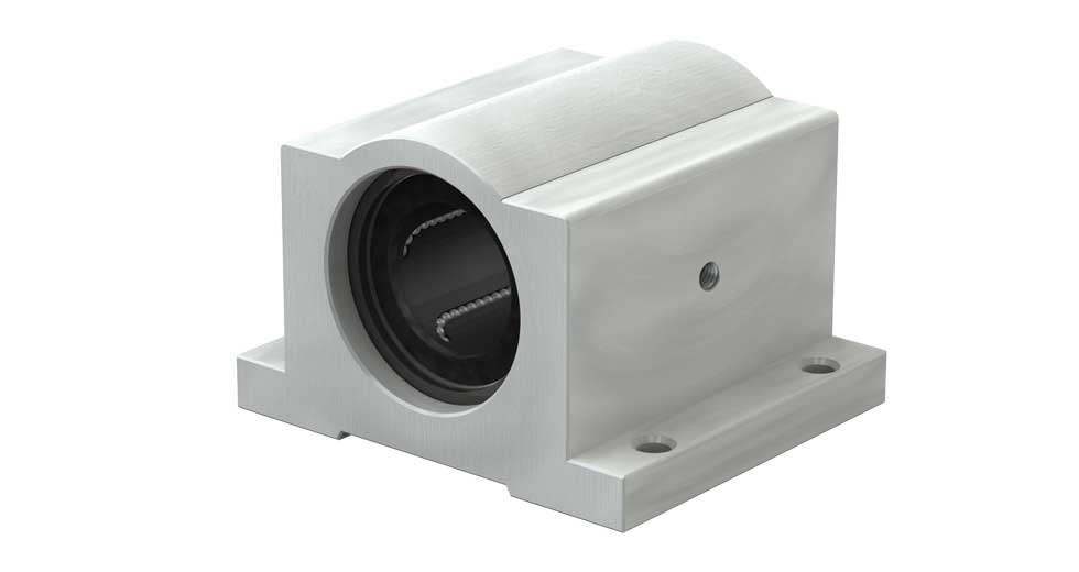 IPPS Precision Plus Single Width Closed Linear Ball Bearing Pillow Blocks (Inch)
