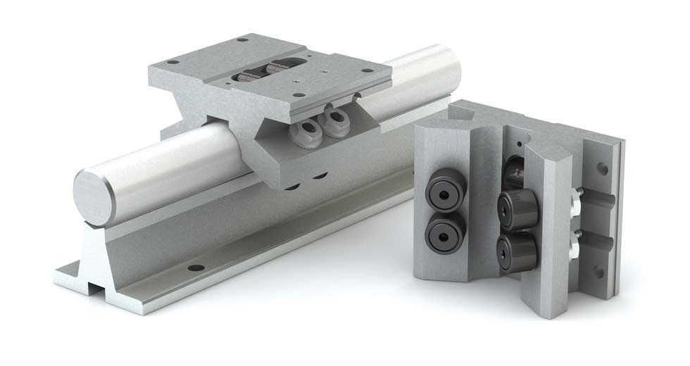 Product view of DPB (Inch) Double Roller Pillow Block