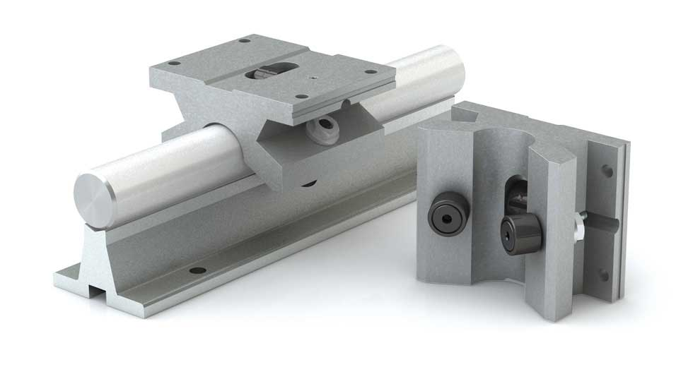 Product view of MSPB (Metric) Single Roller Pillow Block