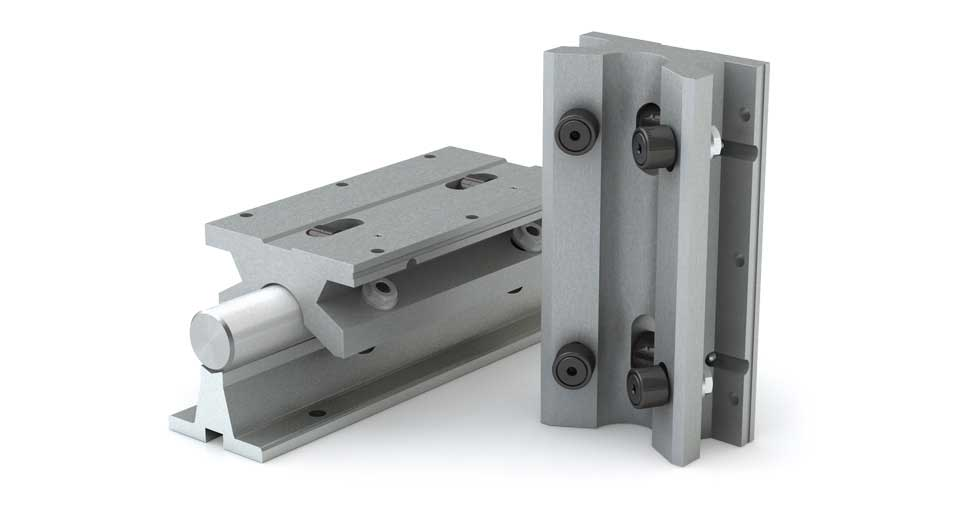 Product view of TWN (Inch) Twin Roller Pillow Block