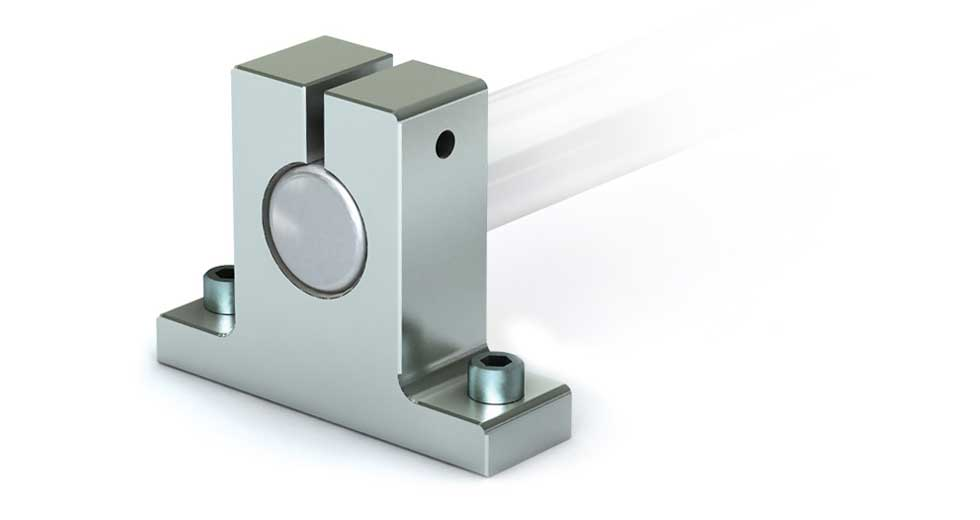 NSB (Inch) Linear Shafting Aluminum End Support Blocks