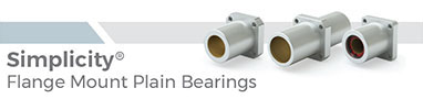 Simplicity Flange Mount Plain Bearings