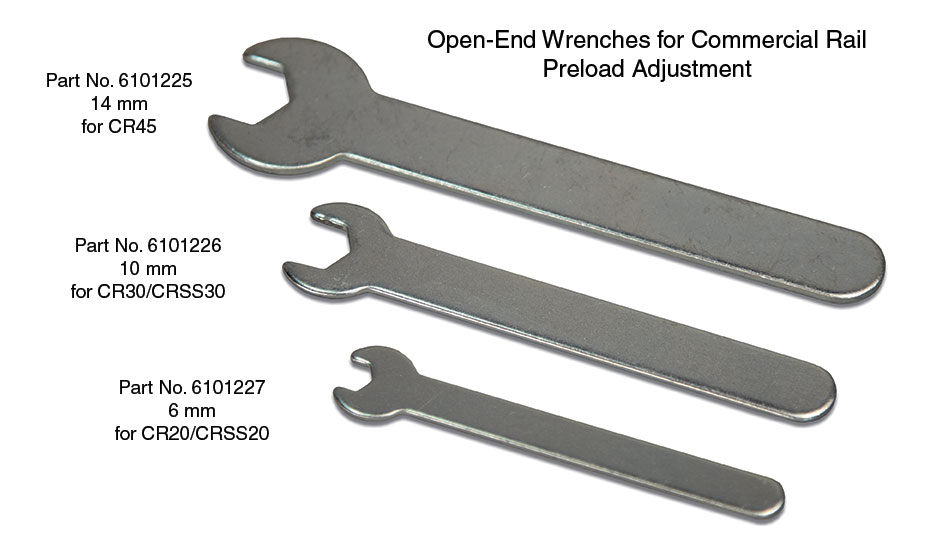 Commercial Rail PreLoad Wrenches
