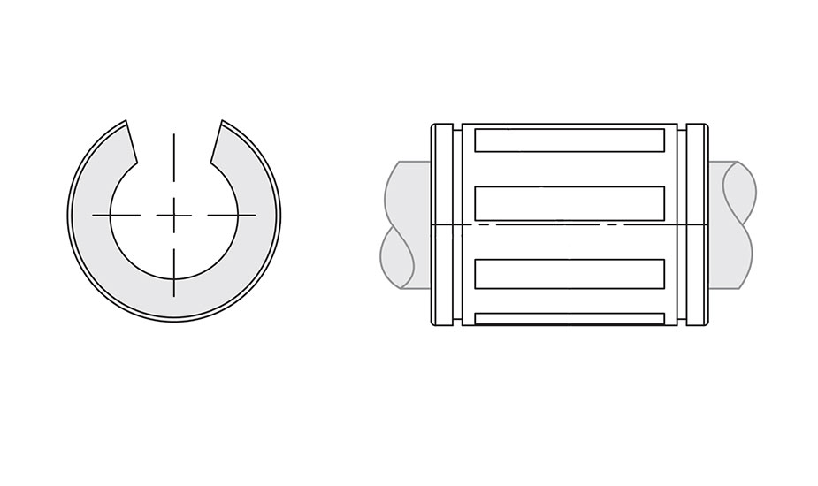 Linear Ball Bearing - IPS Super Self Aligning Open