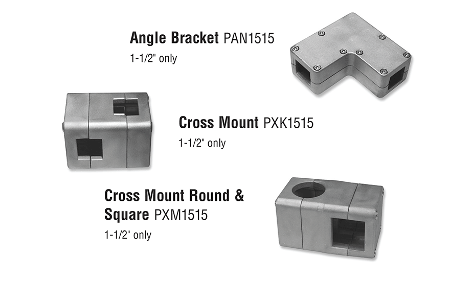 Square Bearing Linear Guide Bearing Accessory Mounts SBL24