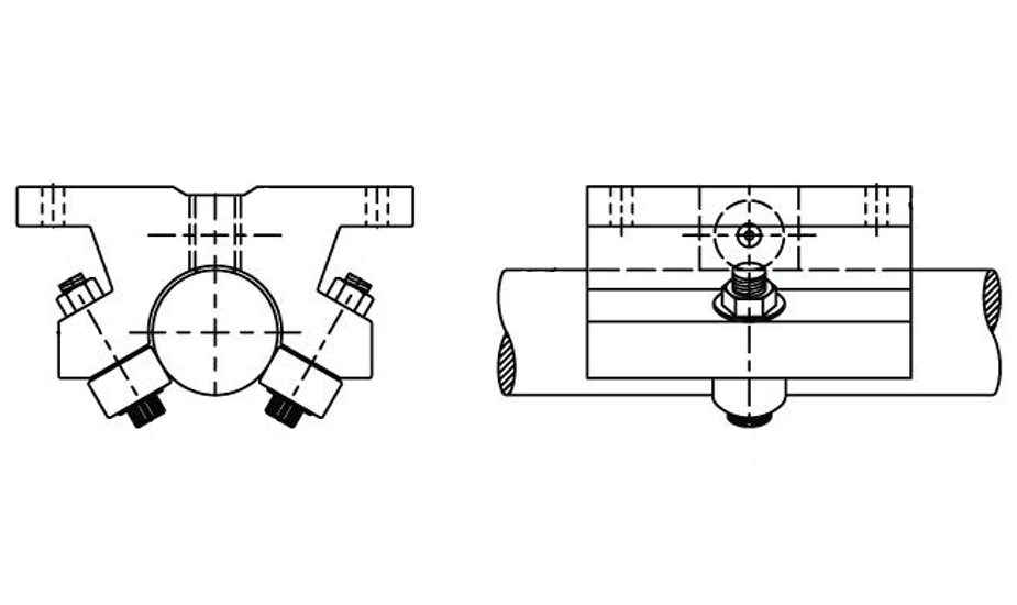Single Roller Pillow Block (Metric)  – SPB Diagrams