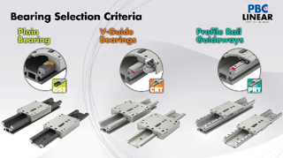 Bearing Selection Criteria