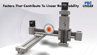 Factors that contribute to linear repeatability