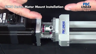 SIMO Series Linear Actuator Motor Integration